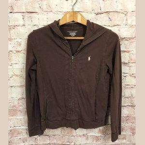 Ralph Lauren Polo Hoodie Small Full Zip Jacket